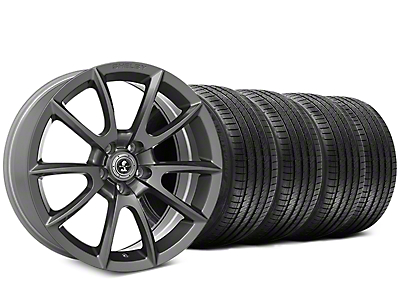 Shelby Super Snake Style Charcoal Wheel & Sumitomo Tire Kit - 20x9 (05-14 All)