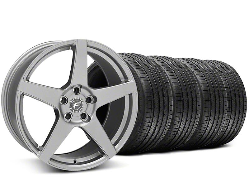 Forgestar CF5 Monoblock Gunmetal Wheel & Sumitomo Tire Kit - 20x9 (05-14 All)