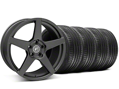 Forgestar CF5 Monoblock Matte Black Wheel & Sumitomo Tire Kit - 20x9 (05-14 All)