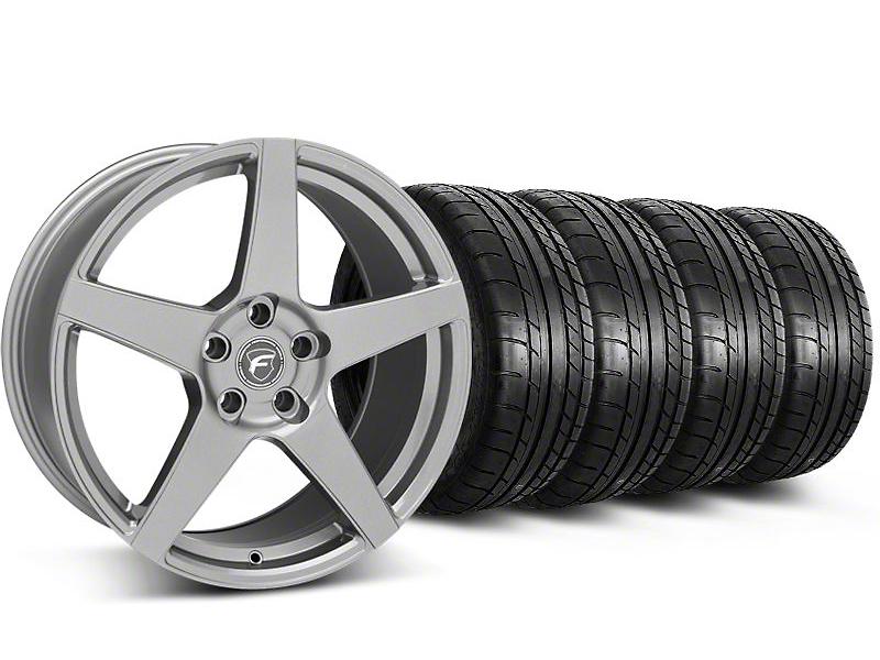 Forgestar CF5 Monoblock Gunmetal Wheel & Mickey Thompson Tire Kit - 20x9 (05-14 All)