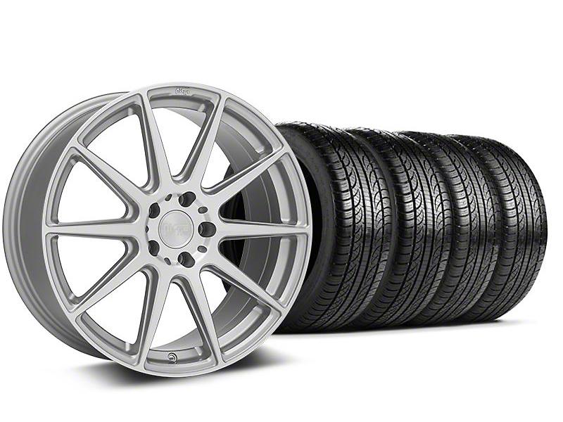 Niche Essen Silver Wheel & Pirelli Tire Kit - 19x8.5 (05-14 All)