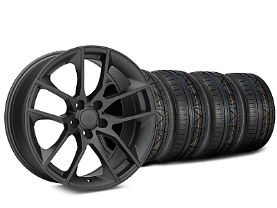2015 Mustang GT Style Charcoal Wheel & NITTO INVO Tire Kit - 20x8.5 (05-14 All)