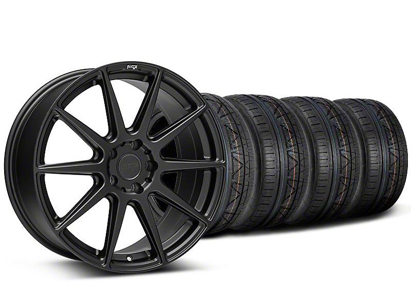 Niche Essen Matte Black Wheel & NITTO INVO Tire Kit - 20x9 (05-14 All)