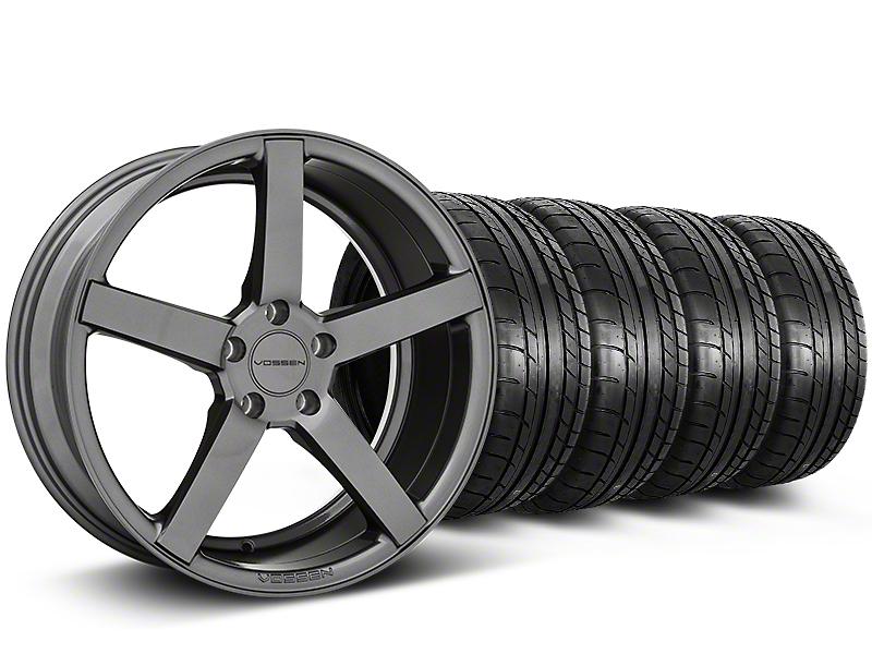Staggered CV3-R Graphite Wheel & Mickey Thompson Tire Kit - 20x9/10.5 (05-14 All)