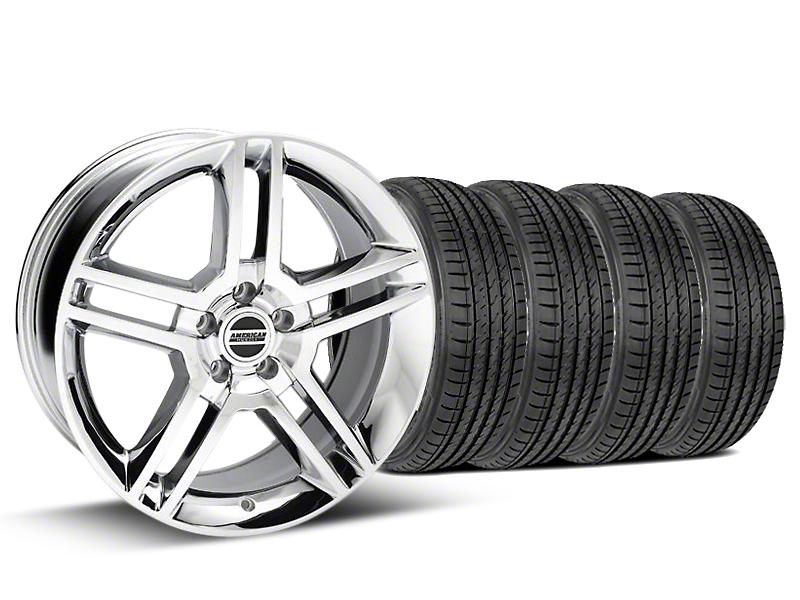2010 GT500 Style Chrome Wheel & Sumitomo Tire Kit - 19x8.5 (05-14)