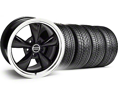 Bullitt Black Wheel & Sumitomo Tire Kit - 17x8 (94-04)