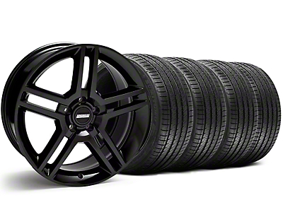 2010 GT500 Style Black Wheel & Sumitomo Tire Kit - 18x9 (05-14)