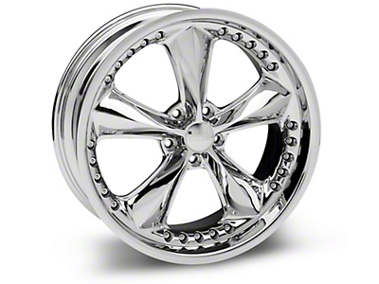 Foose Nitrous Chrome Wheel - 20x8.5 (15-17 V6, EcoBoost)
