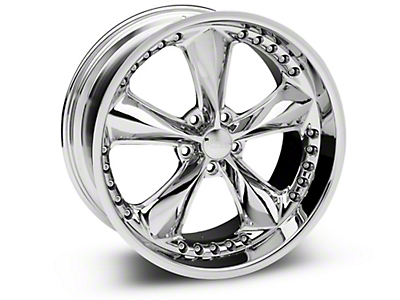Foose Nitrous Chrome Wheel - 20x10 (15-17 V6, EcoBoost)