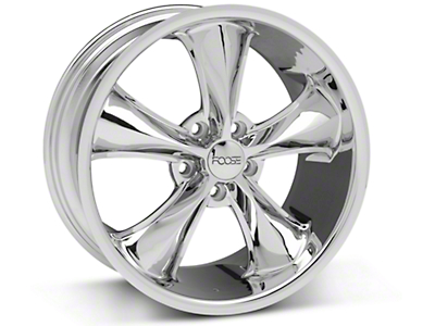 Foose Legend Chrome Wheel - 18x8.5 (05-10 GT, V6)