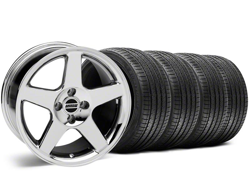 2003 Cobra Style Chrome Wheel & Sumitomo Tire Kit - 17x9 (87-93; Excludes 93 Cobra)