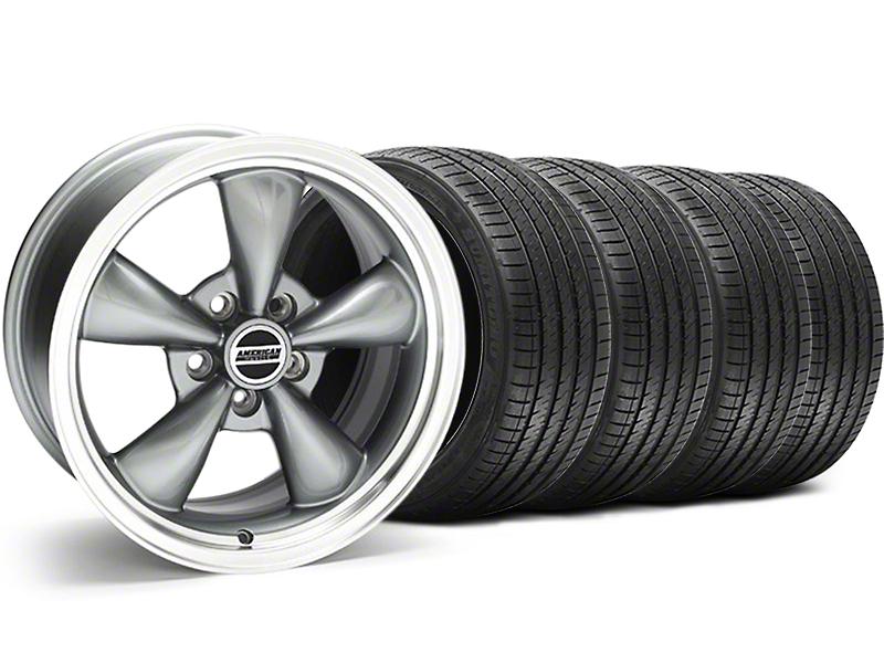 Bullitt Anthracite Wheel & Sumitomo Tire Kit - 18x9 (94-98 All)