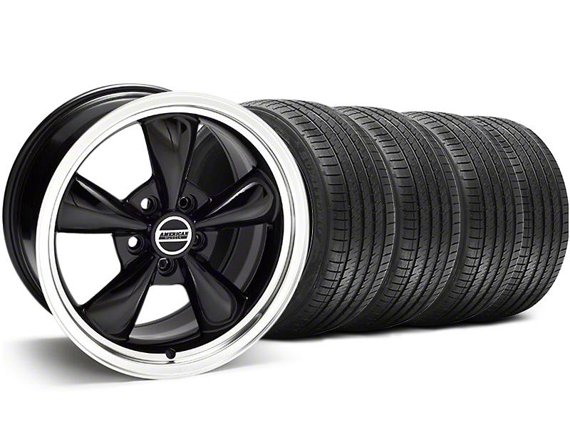 Bullitt Black Wheel & Sumitomo Tire Kit - 17x9 (94-98 All)