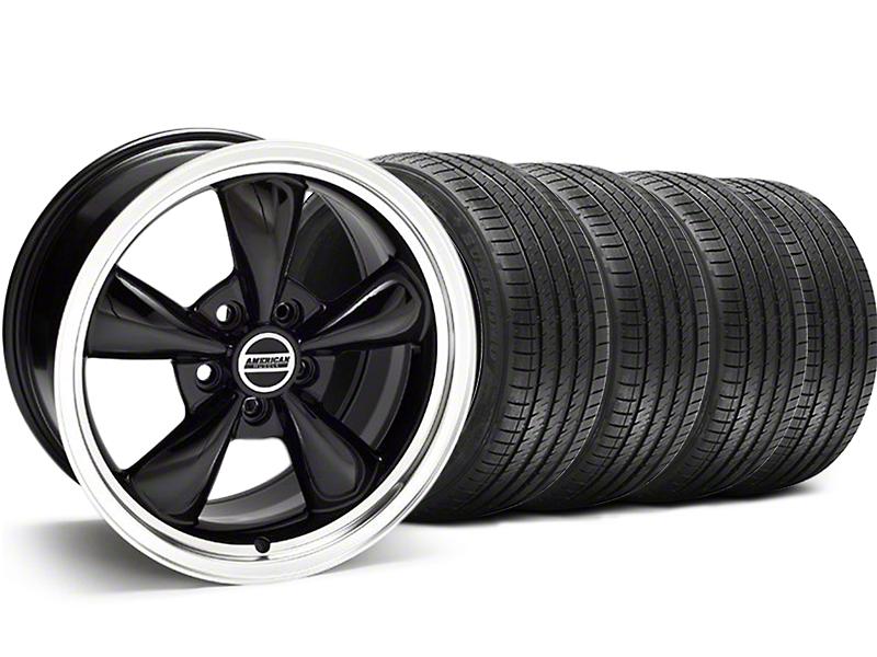 Bullitt Black Wheel & Sumitomo Tire Kit - 18x9 (94-98 All)
