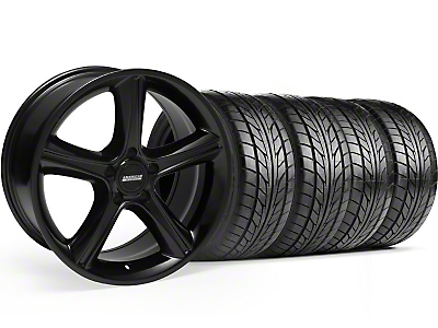 2010 GT Premium Style Black Wheel & NITTO Tire Kit - 18x9 (94-98 All)