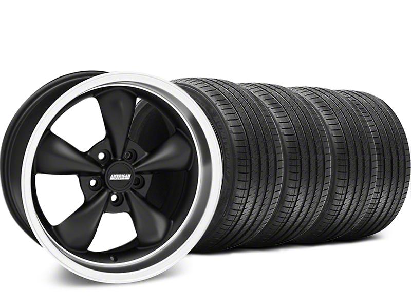Bullitt Matte Black Wheel & Sumitomo Tire Kit - 17x8 (94-04 All)