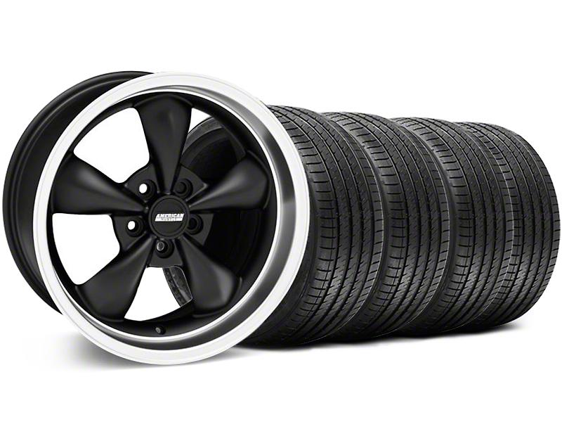 Bullitt Matte Black Wheel & Sumitomo Tire Kit - 18x8 (94-98 All)
