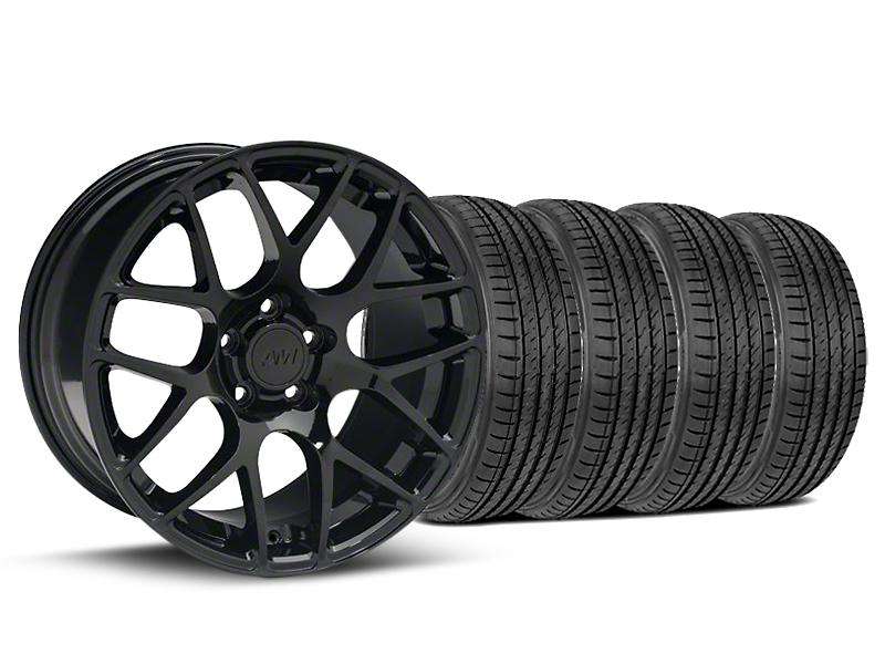 AMR Black Wheel & Sumitomo Tire Kit - 19x8.5 (05-14 All)