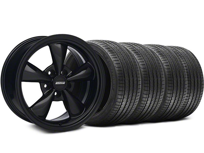 Bullitt Solid Black Wheel & Sumitomo Tire Kit - 17x8 (94-04 All)