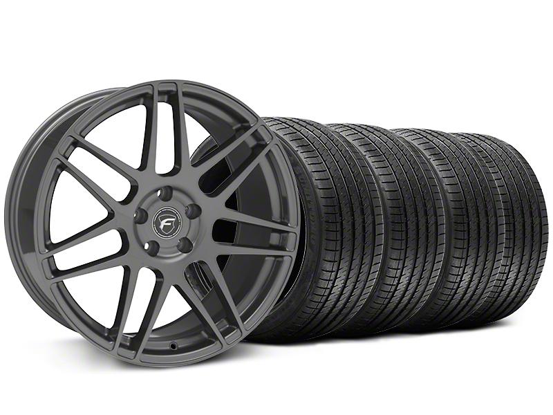 Forgestar F14 Monoblock Gunmetal Wheel & Sumitomo Tire Kit - 20x9 (05-14 All)
