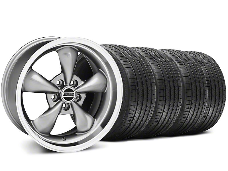 Deep Dish Bullitt Anthracite Wheel & Sumitomo Tire Kit - 18x9 (94-98)