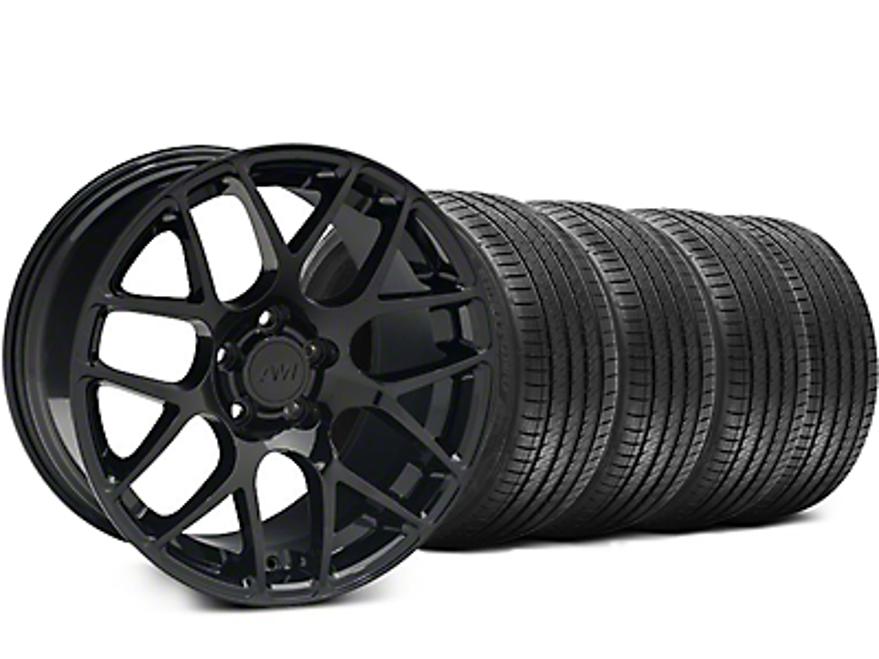 AMR Black Wheel & Sumitomo Tire Kit - 18x9 (94-98 All)