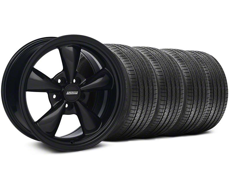 Staggered Bullitt Solid Black Wheel & Sumitomo Tire Kit - 18x9/10 (94-98 All)