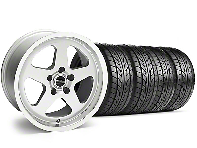 SC Style Silver Wheel & NITTO Tire Kit - 17x9 (94-98 All)