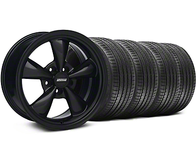 Bullitt All Black Wheel & Sumitomo Tire Kit - 17x9 (94-98 All)