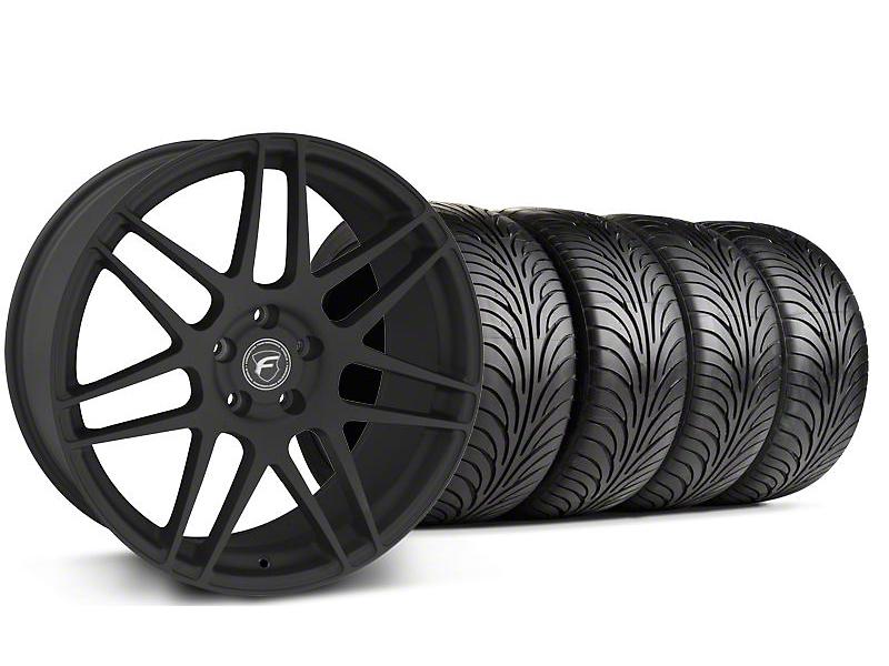 Forgestar F14 Monoblock Textured Black Wheel & Sumitomo Tire Kit - 18x9 (94-98 All)