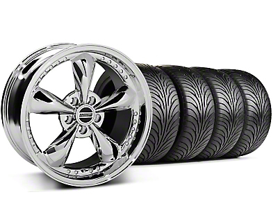 Bullitt Motorsport Chrome Wheel & Sumitomo Tire Kit - 18x9 (99-04 All)
