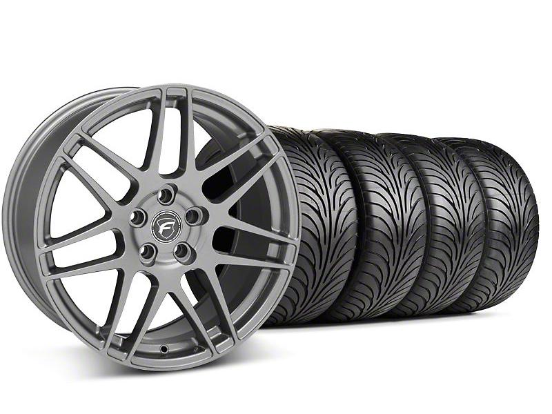 Forgestar F14 Monoblock Gunmetal Wheel & Sumitomo Tire Kit - 18x9 (99-04 All)