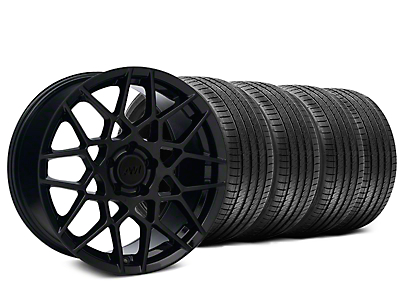 2013 GT500 Style Gloss Black Wheel & Sumitomo Tire Kit - 18x9 (99-04 All)