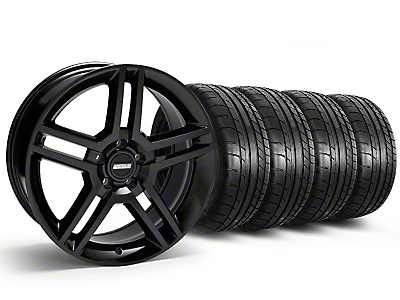 2010 GT500 Style Black Wheel & Mickey Thompson Tire Kit - 19x8.5 (05-14 All)
