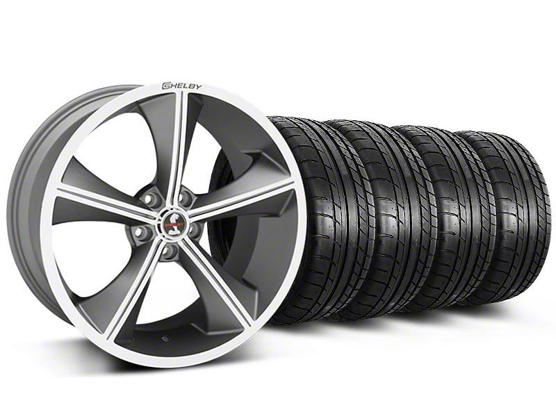 Shelby CS70 Gunmetal Wheel & Mickey Thompson Tire Kit - 20x9 (05-14)