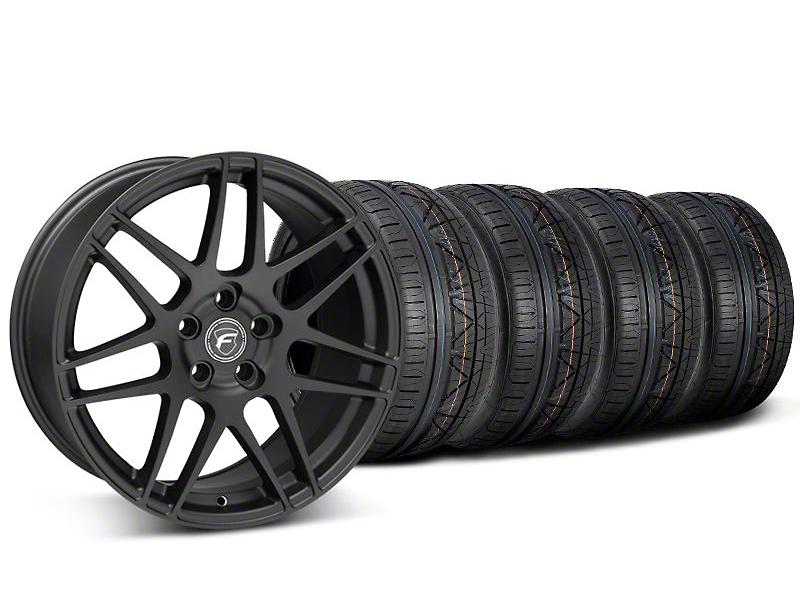 Forgestar F14 Monoblock Matte Black Wheel & NITTO INVO Tire Kit - 20x9 (05-14)