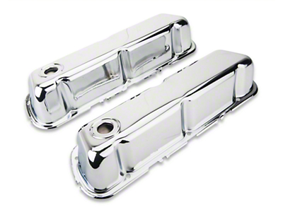 Holley Performance Chrome Valve Covers (289, 302, 351W)