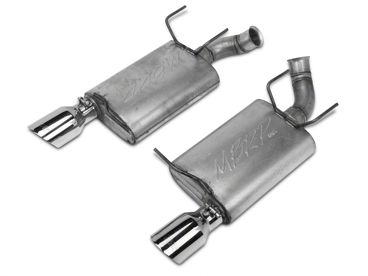 MBRP Installer Series Axle-Back Exhaust - Aluminized (11-14 V6)