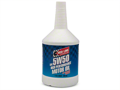 Red Line Synthetic 5w50 Motor Oil