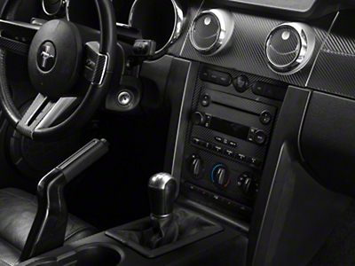 Carbon Fiber Dash Overlay Kit (05-09 All)
