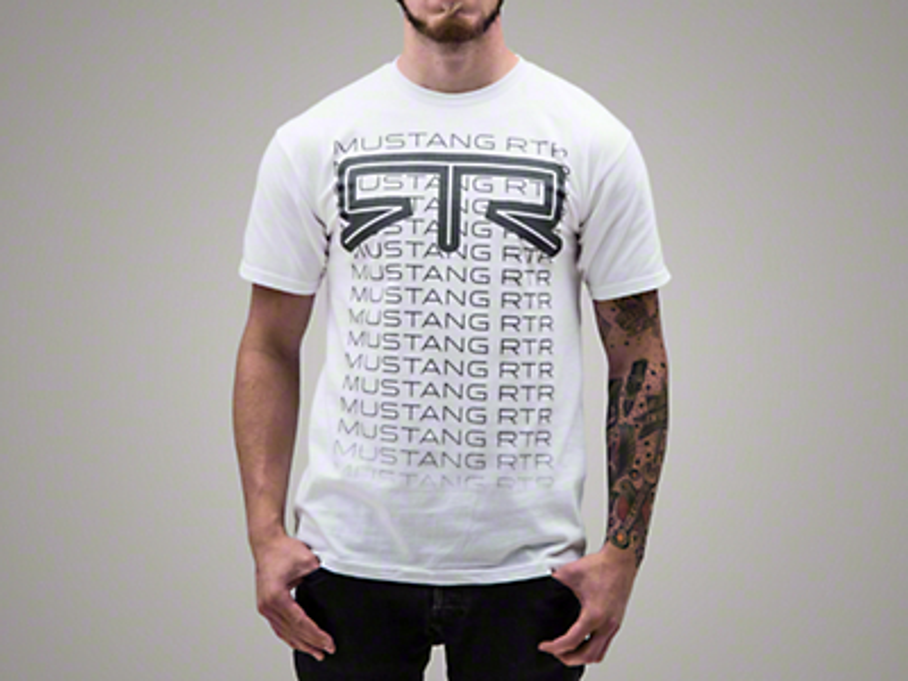 RTR Fade T-Shirt - White