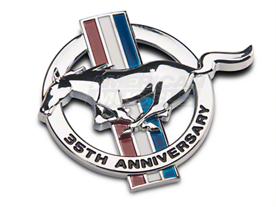 Ford 35th Anniversary Fender Emblem - Driver Side (99 All)