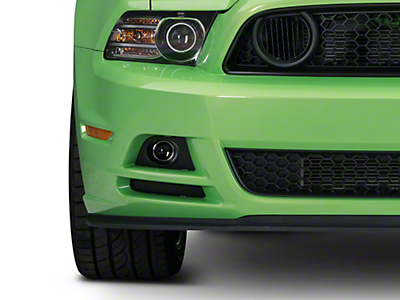 Ford Fog Light Kit - Lower Valance (13-14 GT)