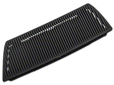 Ford Hood Vent Heat Extractor Grille - Left Side (03-04 Cobra)