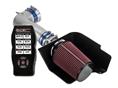 C&L Street Cold Air Intake w/ 83mm MAF & Bama X4 Tuner (05-09 GT)