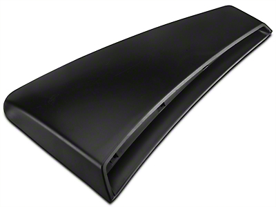 Ford Quarter Panel Side Scoop - Left Side - Unpainted (01-04 GT; 03-04 Mach 1, Cobra)