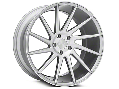 Niche Surge Silver Machined Directional Wheel - Driver Side - 20x10 (05-14 All)