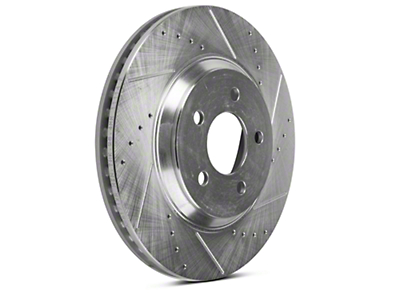 Power Stop Evolution Cross-Drilled & Slotted Rotors - Front Pair (05-10 GT, 11-14 V6)
