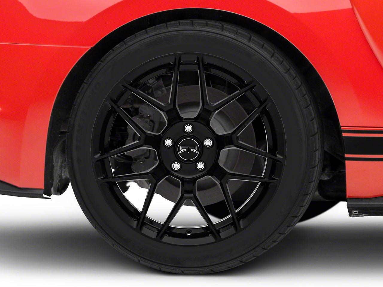 RTR Tech 7 Black Wheel - 19x10.5 (15-17 All)