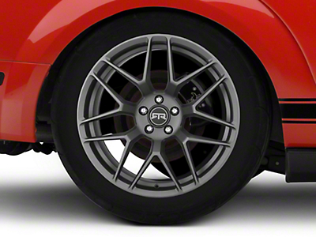 RTR Tech 7 Charcoal Wheel - 20x10.5 (05-14 All)